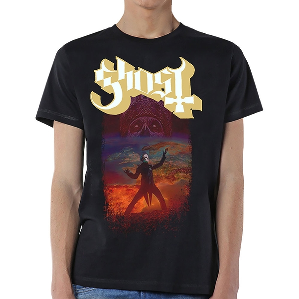 Ghost - EU Admat Men's XX-Large T-Shirt - Black