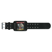 Iron Maiden - Number of the Beast Leather Wrist Strap
