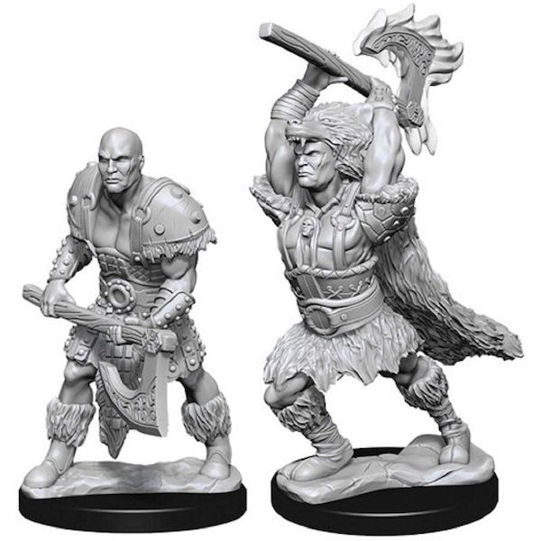 (W10) Dungeons & Dragons Nolzur's Marvelous Unpainted Miniatures Male Goliath Barbarian