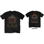 Slayer - Eagle Grave 21/06/18 Iceland Event Men's Small T-Shirt - Black
