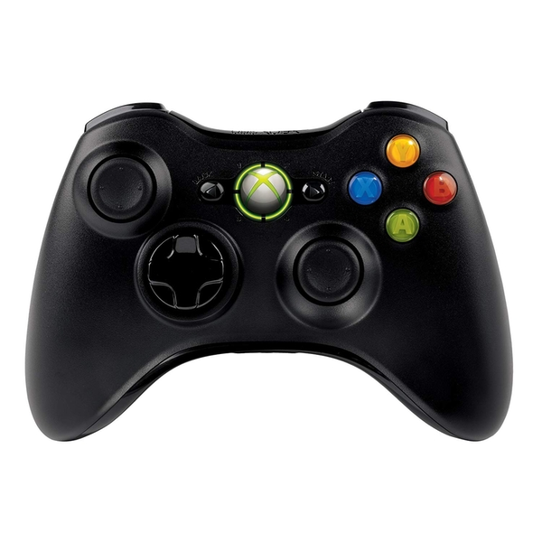 Elite Official Wireless Controller With Play & Charge Kit BLACK Xbox 360 [Damaged Packaging]