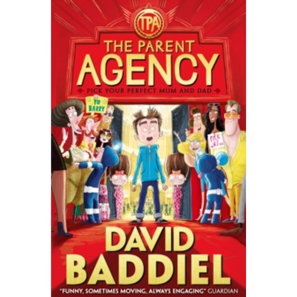 The Parent Agency by David Baddiel (Paperback, 2015)