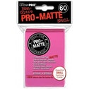 Ultra Pro Matte Small Bright Pink 60 Sleeves DPD - 10 Packs