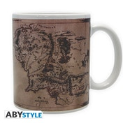 Lord Of The Ring - Map Mug