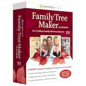 Family Tree Maker Platinum Edition 2014 PC