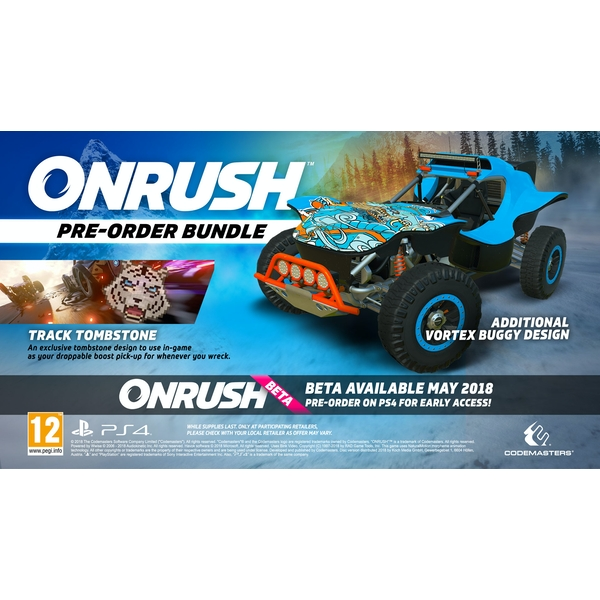 Onrush Day One Edition PS4 Game (Tombstone DLC) - Image 7