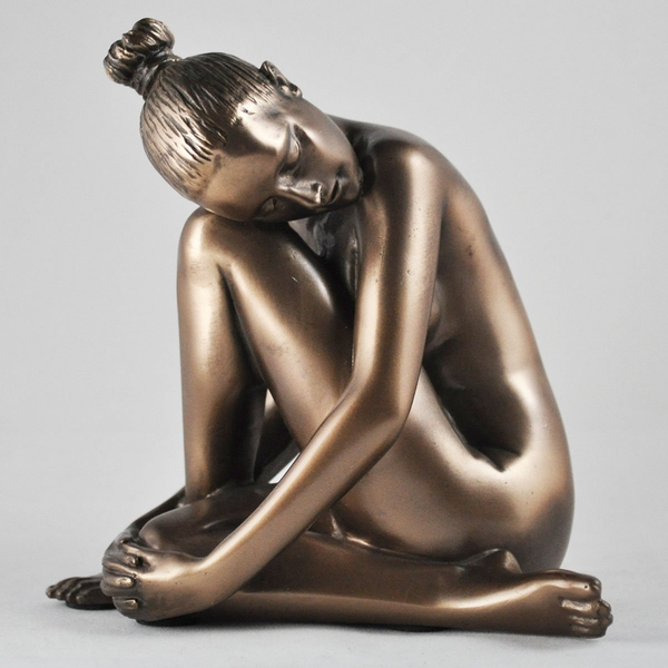 Tranquil Cold Cast Bronze Sculpture