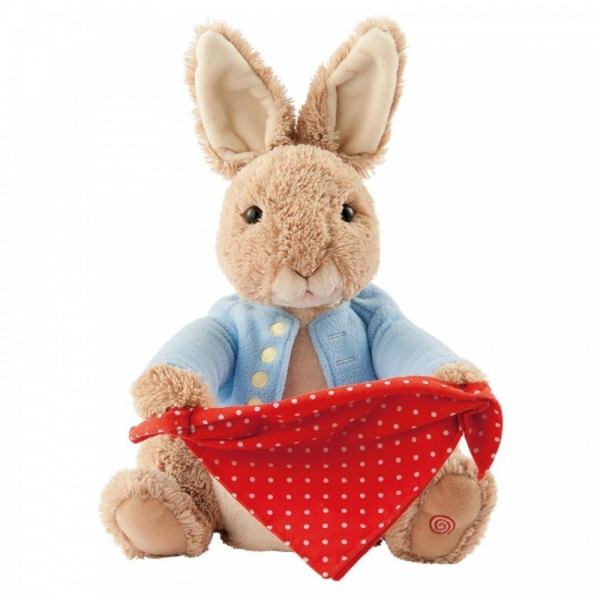 Peter Rabbit Peek-a-Boo Soft Toy