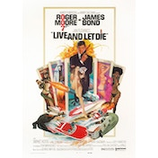 James Bond - Live And let Die Postcard