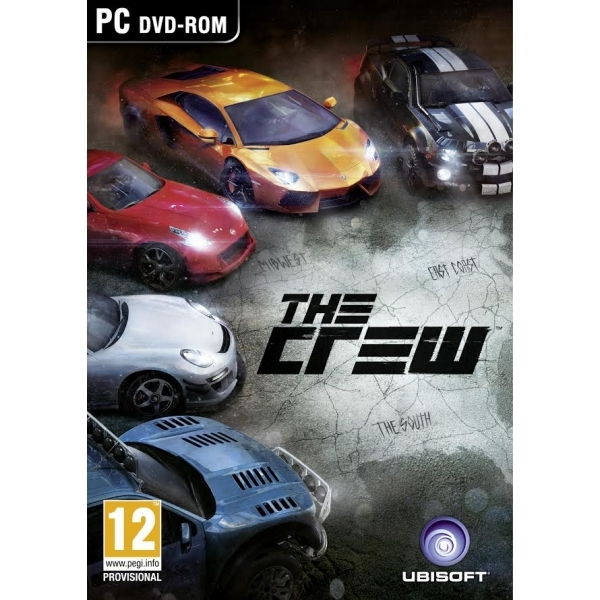 The Crew Game PC (Boxed and Digital Code)