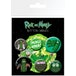 Rick and Morty Pickle Rick Badge Pack - Image 3