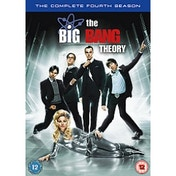 Big Bang Theory The Complete Season 4 DVD
