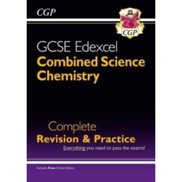 New Grade 9-1 GCSE Combined Science: Chemistry Edexcel Complete Revision & Practice with Online Edn.