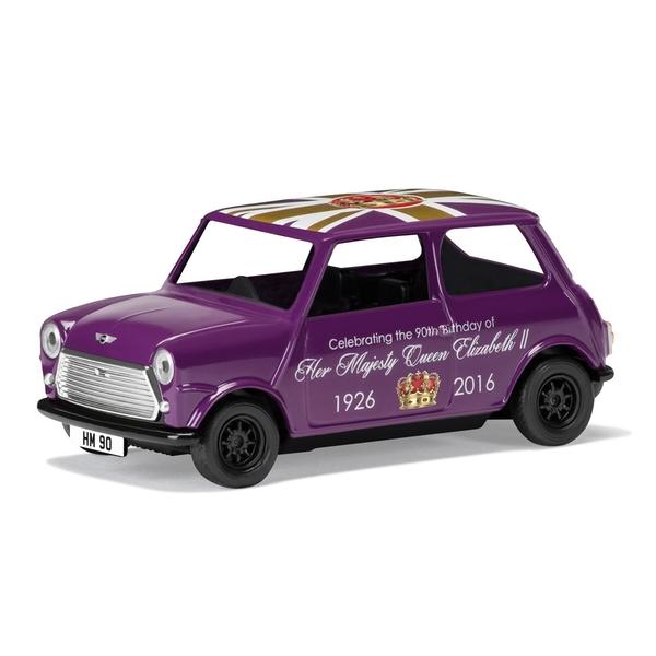 Austin Mini The 90th Birthday of HM QE II Corgi 1:36 Model Car
