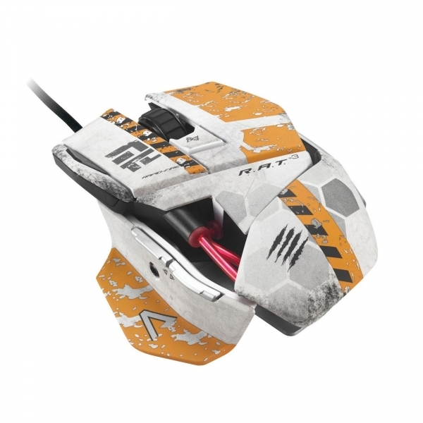 Madcatz R A T Rat 3 Gaming Mouse PC Titanfall Edition