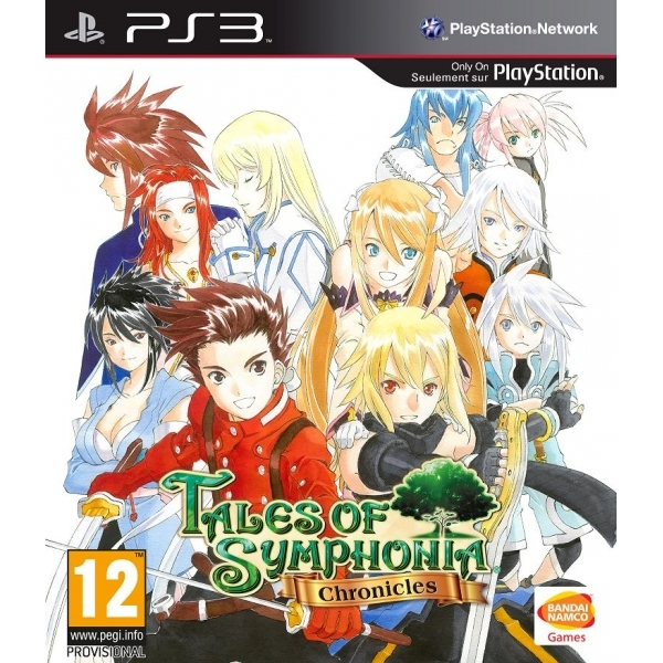 Tales of Symphonia Chronicles Game + Phone Carry Case PS3