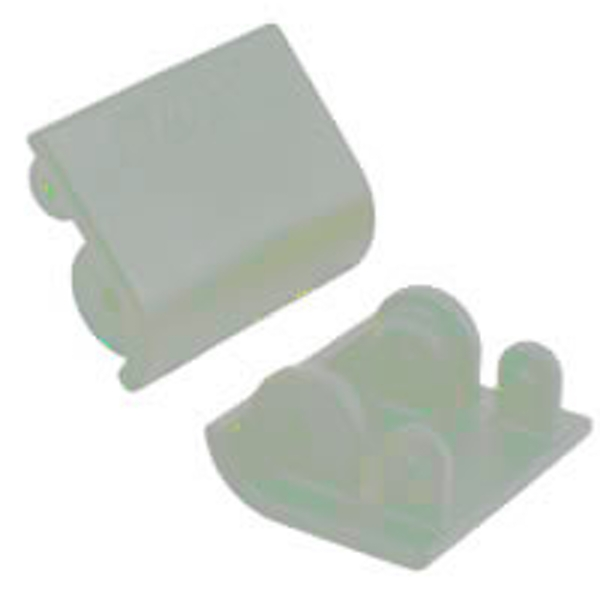 Rpm Baja 5B Replacement Shock Skid Plates (2) - Dyeable White