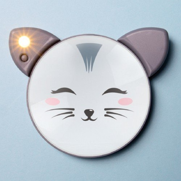 Character light up mirror - Cat