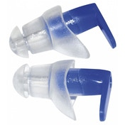 SwimTech Ear Plugs Blue/Clear