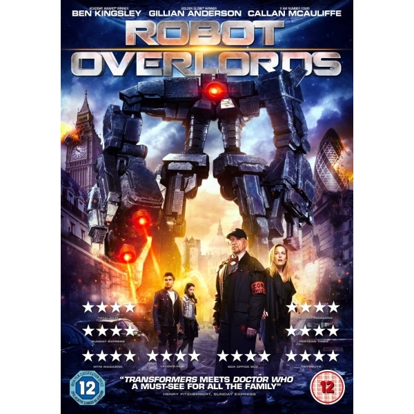 Robot Overlords DVD
