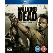 The Walking Dead Seasons 1-4 Blu-ray