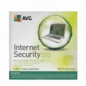 AVG Internet Security 1 Computer 1 Year OEM 2012