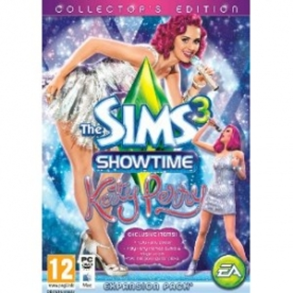 The Sims 3 ShowTime Katy Perry Collector's Edition Game PC & MAC