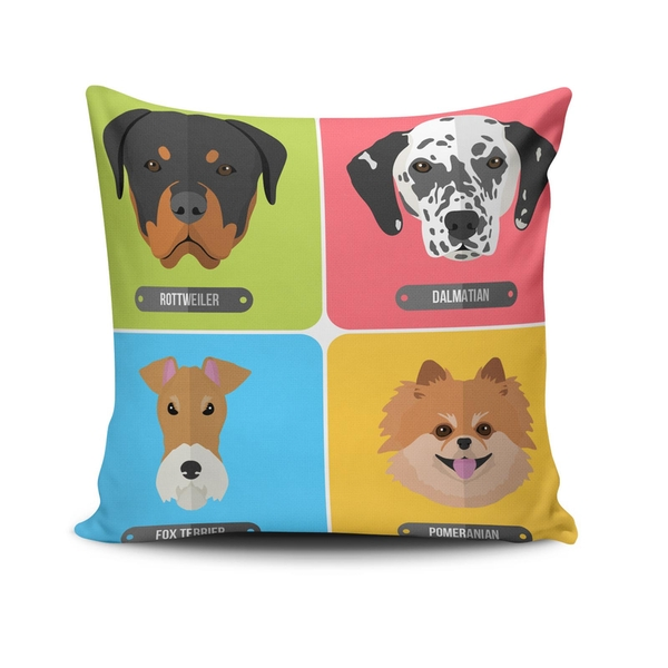 NKLF-402 Multicolor Cushion Cover