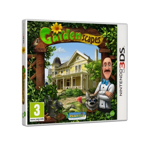 Gardenscapes Game 3DS