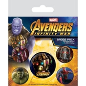 Avengers: Infinity War Badge Pack