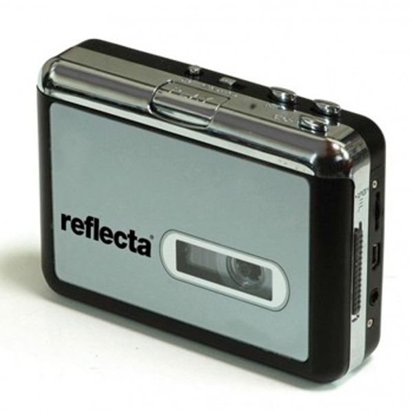 Reflecta Digi cassette dubbing device to PC