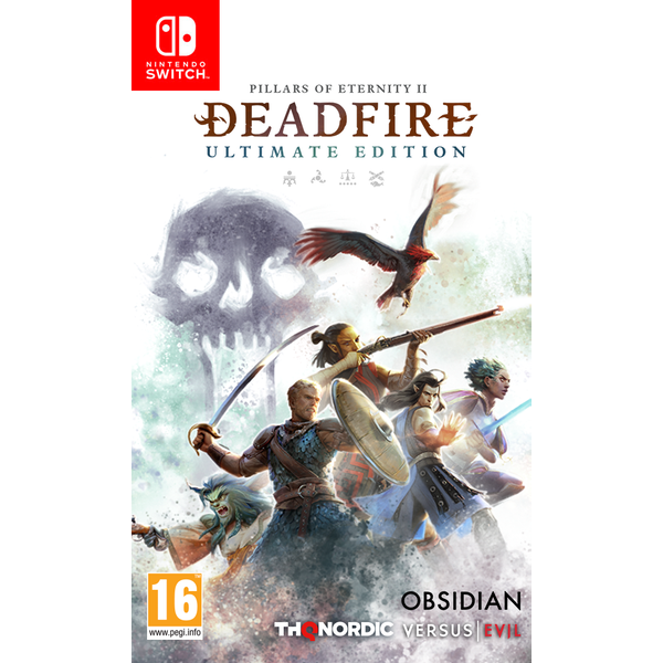 Pillars Of Eternity II Deadfire Ultimate Edition Nintendo Switch Game