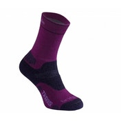 Bridgedale WoolFusion Trekker Women's Socks, Berry - Medium