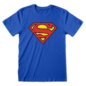 DC Comics - Superman Logo Unisex Small T-Shirt - Blue