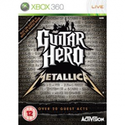 Guitar Hero Metallica Solus Game Xbox 360