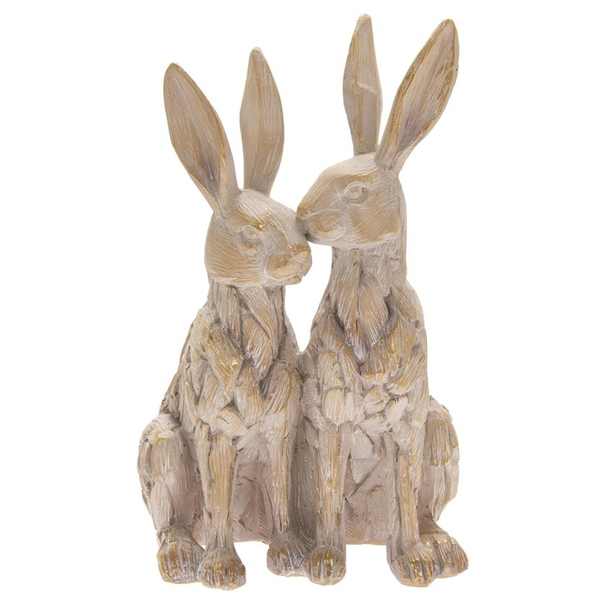 Driftwood Twin Hares by Lesser & Pavey