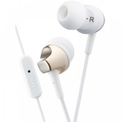 JVC HAFR325N Premium Sound In Ear Headphones with Remote &  Mic Gold