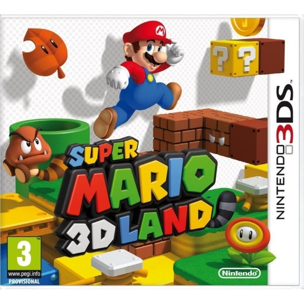 Ex-Display Super Mario 3D Land Game 3DS Used - Like New