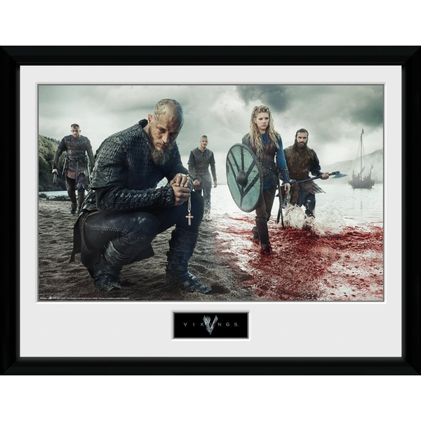 Vikings Blood Landscape Collector Print