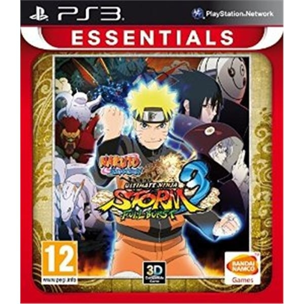 Naruto Shippuden Ultimate Ninja Storm 3 Full Burst Game PS3 (Essentials)
