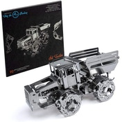 Time For Machine Hot Tractor self wind-up DIY 3D Metal Model Kit