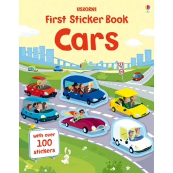First Sticker Book Cars