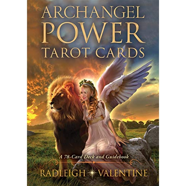 Archangel Power Tarot Cards A 78-Card Deck and Guidebook Cards 2018