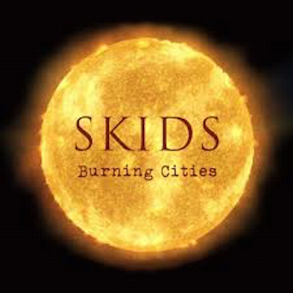 Skids ‎– Burning Cities Limited Edition Red Vinyl