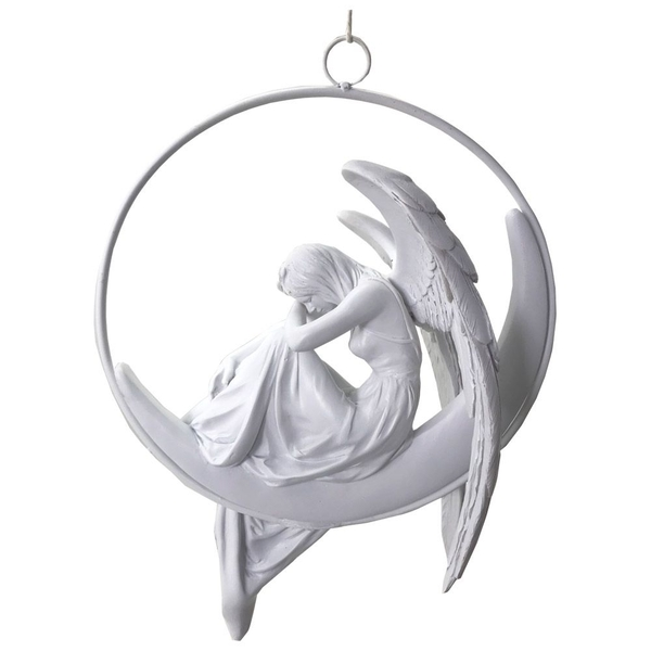 Angels Serenity Winged Angel Hanging Decoration