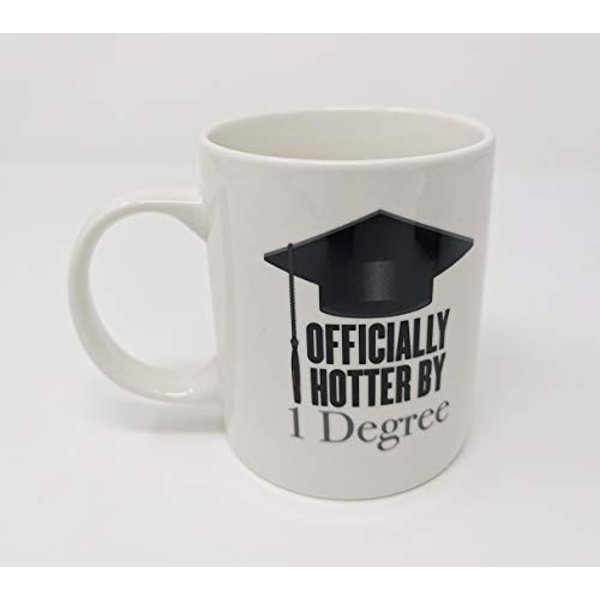 Graduation New Bone China Mug - Hotter By 1 Degree