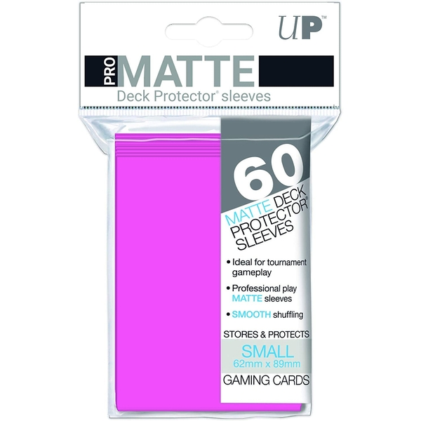 Ultra Pro Bright Pink Green Small Deck Protectors - 60 Sleeves