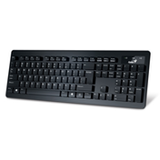 Genius Slimstar 130 Slim Design USB Keyboard - UK Layout