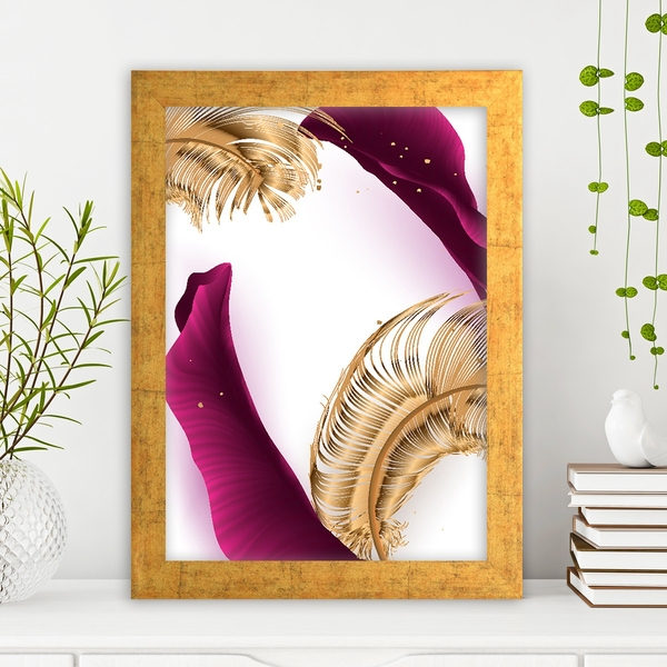 AC139479835725 Multicolor Decorative Framed MDF Painting