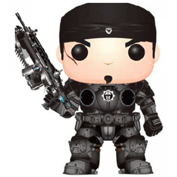 Ex Display Marcus Fenix Gears Of War Funko Pop Vinyl